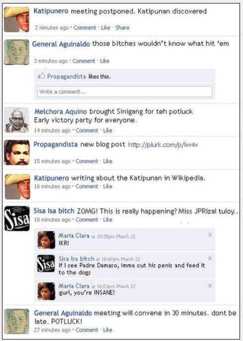 kkk conversation